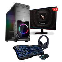 Kit - Pc Gamer Smart Nli82540 Amd A6-7480 8gb (radeon R5 Integrado) Ssd 120gb 400w 80 Plus  + Monitor 21,5