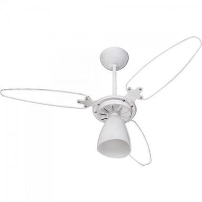 Ventilador De Teto 3 Pas 127v Wind Light Transparente Ventisol