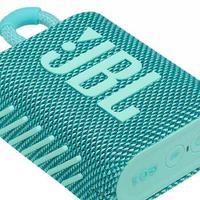 Caixa De Som Portatil Jbl Go3 Com Bluetooth - 28913277 Verde Azulado Bivolt