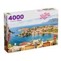 Puzzle 4000 Peças Vista Mediterrânea