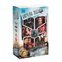 Puzzle 60 Peças Liga Da Justiça - Filme