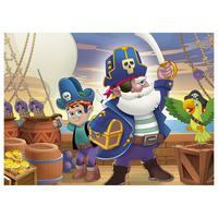 Quebra Cabeça 60 Peças Pirata