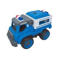 City Machine Multikids Caminhão de Transporte Policial +3 Anos BR1084