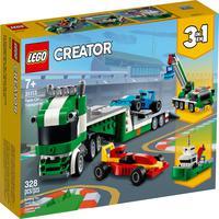 Lego Creator - Caminhão De Transporte De Carros De Corrida - 31113