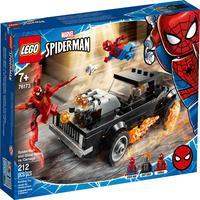 Lego Spiderman - Homem Aranha E Ghost Rider Vs. Carnage - 76173