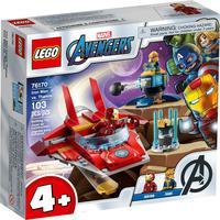 Lego Marvel - Homem De Ferro Vs Thanos - 76170