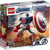 Lego Marvel - Armadura Robô Do Capitão América - 76168