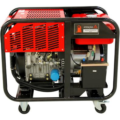 Gerador A Diesel 13.75kva Trifásico 380v Partida Elétrica Refrigerado A Ar - Nngd13ea3d - Nagano