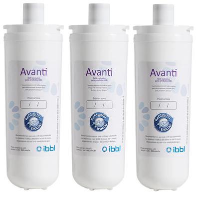 Refil Ibbl Avanti (3 Unidades)