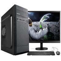 "Computador Completo Fácil Intel Core I3, 4gb, Hd 1tb, Monitor 15"" Hdmi Led, Teclado E Mouse"