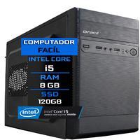 Computador Fácil Intel Core I5 8gb Ssd 120gb