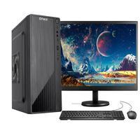"""Computador Completo Fácil Intel Core I3 10100f (décima Geração) 8gb Ddr4 Geforce Nvidia 1gb Ssd 480gb Monitor 19"""" Hdmi"""
