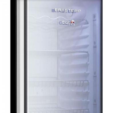 Frigobar Brastemp 120 Litros Porta Vidro Cinza 110v Bza12afana