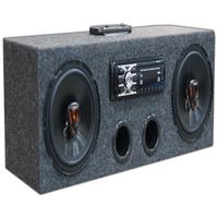 Caixa Residencial Radio Bluetooth + Par Falante 6 Jbl 100w