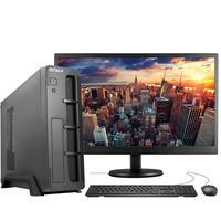 "Computador Completo Fácil Slim Intel Core I5, 8GB, SSD 240GB, c/ Monitor 19"" HDMI Led, Teclado e Mouse"