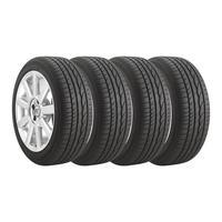 Kit 4 Pneus Bridgestone Aro 16 185/55r16 Turanza Er300 83v Fit City