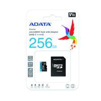 Cartao de Memoria 256GB Micro SDXC + 1 Adp Classe 10 Adata