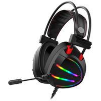 Headset Gamer K-mex Ar70 7.1 Virtual Surround Usb Preto