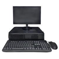 Computador Slim Office, Intel Core I5 Série 4, Ram 8gb, Ssd 240gb, Windows 10, Monitor ''18.5 e Kit Teclado e Mouse Usb