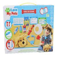 Brinquedo I Love My Pets Hora Do Exame Multikids Br1216