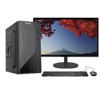 """Computador Completo Fácil Intel Core I3 10100F Décima Geração, 4GB DDR4, Geforce, SSD 120GB, Monitor 21.5"""", HDMI"""