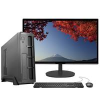 """Computador Fácil Slim Premium Completo Intel Core I5 9400f (nona Geração) 8gb Ddr4 Ssd 480gb Monitor 21,5"""" Hdmi Led"""