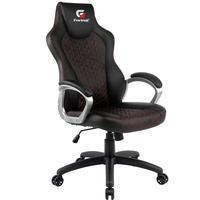 Cadeira Gamer Giratória Com Elevação A Gás Office Blackfire H01 Preto Vermelho - Fortrek