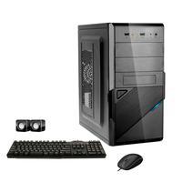 Computador Corporate I3 8gb 240gb Ssd Dvdrw Kit Multimídia Windows 10