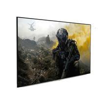 Tela De Projeção Fixa Projetelas 100'' Frame Slim Ultravision Cinza 1.3