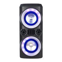 Mini Torre Multilaser Neon X 300W BT/AUX/USB/FM LED - SP379