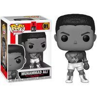 Boneco Funko Pop Muhammad Ali  01 Special Edition Black And White