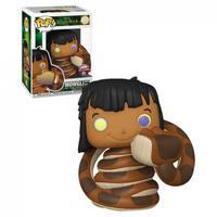 Boneco Funko Pop Disney The Jungle Book Mowgli With Kaa 987