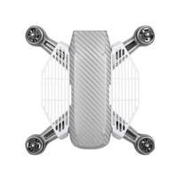 Protetor De Dedos Branco Para Decolagem E Pouso Nas Mãos - Drone Dji Spark