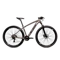 Bicicleta Alum 29 Ksw Shimano 27v A Disco Hidráulica Krw14 - 19'' - Grafite/preto Fosco