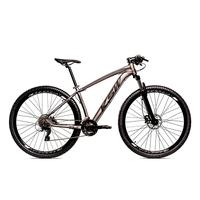 Bicicleta Alumínio Ksw Shimano Altus 24 Vel Freio Hidráulico E Cassete Krw19 - 15.5´´ - Grafite/preto Fosco