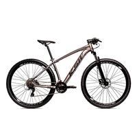 Bicicleta Alumínio Ksw Shimano Altus 24 Vel Freio Hidráulico E Cassete Krw19 - 17´´ - Grafite/preto Fosco