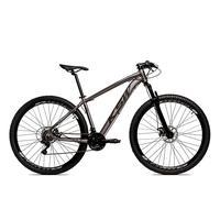 Bicicleta Alumínio Aro 29 Ksw Shimano Tz 24 Vel Ltx Krw20 - 17´´ - Grafite/preto Fosco