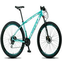 Bicicleta Aro 29 Dropp Rs1 Pro 24v Acera Freio Hidra E Trava - Verde/branco - 17'' - 17''