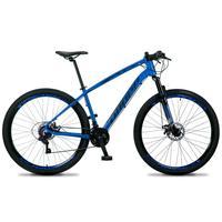 Bicicleta Aro 29 Dropp Tx 21v Shimano, Suspensão E Freio Disco - Azul/preto - 19´´ - 19´´