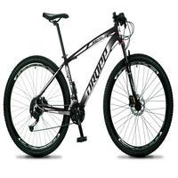 Bicicleta Aro 29 Dropp Rs1 Pro 27v Alivio, Fr. Hidra E Trava - Preto/branco - 19