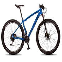 Bicicleta Aro 29 Dropp Rs1 Pro 27v Alivio, Fr. Hidra E Trava - Azul/preto - 21´´ - 21´´