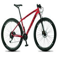 Bicicleta Aro 29 Dropp Rs1 Pro 21v Tourney Freio Disco/trava - Vermelho/preto - 15
