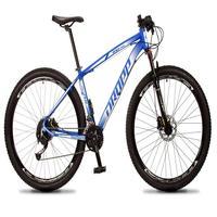 Bicicleta Aro 29 Dropp Rs1 Pro 27v Alivio, Fr. Hidra E Trava - Azul/branco - 19