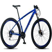 Bicicleta Aro 29 Dropp Rs1 Pro 24v Acera Freio Hidra E Trava - Azul/preto - 17