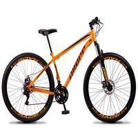 Bicicleta Aro 29 Dropp Sport 21v Suspensão E Freio A Disco - Laranja/preto - 19