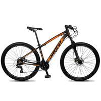 Bicicleta Aro 29 Dropp Z4x 24v Suspensão E Freio A Disco - Preto/laranja - 15