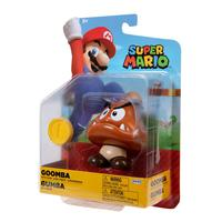 Super Mario - Boneco 4.0 Polegadas Colecionável - Goomba