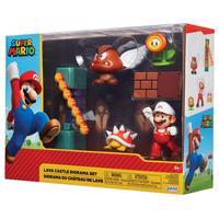 Super Mario - Lava Castle Diorama