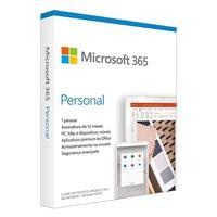 Microsoft Office Qq2-01017 Personal 1tb Midia Fisica 1 Usuario
