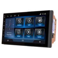 Multimídia Etios Tela 7´´ Android 9.0 Gps Câmera De Ré E Frontal Tv Digital 2gb Aikon